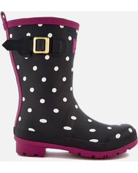 Joules - Molly Short Wellies - Lyst