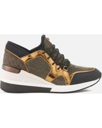 MICHAEL Michael Kors - Women's Scout Runner Trainers - Lyst
