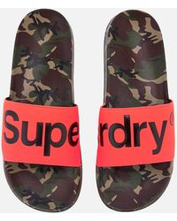 Superdry - Beach Slide Sandals - Lyst