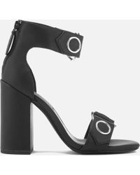 Senso - Lala Leather Heeled Sandals - Lyst