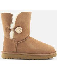 UGG - Women's Bailey Button Ii Sheepskin Boots - Lyst