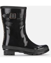 Joules - Kelly Gloss Mid Height Wellies - Lyst