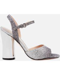 Miss Kg - Women's Erin Two Part Heeled Sandals - Lyst