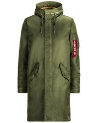 Alpha Industries - Exclusive M-65 Fishtail With Sherpa - Lyst