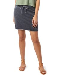 e398513a7 Alternative Apparel - Burnout French Terry Mini Skirt - Lyst