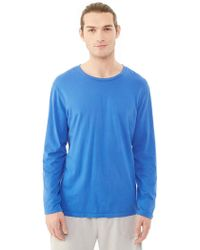 Alternative Apparel - Heritage Garment Dyed Long Sleeve T-shirt - Lyst