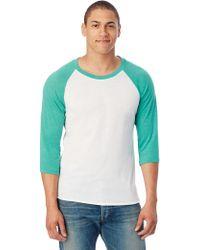 Alternative Apparel - Baseball Eco-jersey T-shirt - Lyst