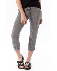 Alternative Apparel - Eco-jersey Crop Pants - Lyst