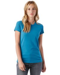 Alternative Apparel - Organic Cotton T-shirt - Lyst