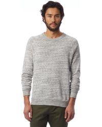 Alternative Apparel - Champ Space-dye Eco-fleece Sweatshirt - Lyst