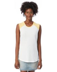 Alternative Apparel - Team Player Vintage Jersey Tank Top - Lyst