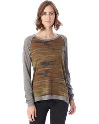 Alternative Apparel - Locker Room Printed Eco-jersey Pullover - Lyst