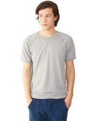 Alternative Apparel - Gym Rat 2.0 Eco-mock Twist Sweatshirt - Lyst