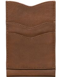 Alternative Apparel - Leather Phone Case Wallet - Lyst