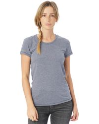 Alternative Apparel - Keepsake Vintage Jersey T-shirt - Lyst