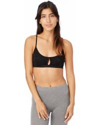 Alternative Apparel - Nytt Bralette With Front Opening - Lyst