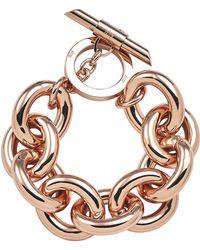 Amanda Wakeley | Chunky Rose Gold Bracelet | Lyst