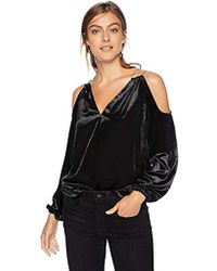 Ramy Brook - Embellished Velvet Gigi Blouse, - Lyst