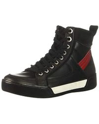 Calvin Klein Niccola Nubuck Leather Sneaker