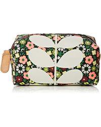 Orla Kiely - Flower Bloom Canvas Cosmetic Bag - Lyst
