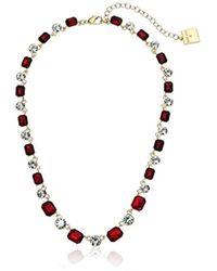 Anne Klein - Gold-tone Siam All Around Collar Necklace - Lyst