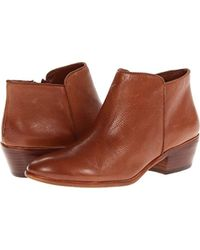 565a56aab2ea7 Lyst - Sam Edelman Petty Ankle Boot in Brown
