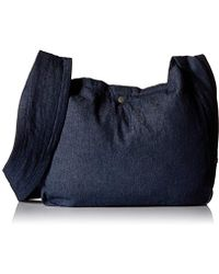 Alternative Apparel - Cross Body Slouch Tote - Lyst