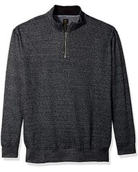 Lee Jeans - Mock Neck Quarter Zip Sweater (regular And Big And Tall Sizes Available) - Lyst