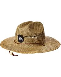 07869f2c Quiksilver Bushmaster Floppy Sun Beach Hat in Blue for Men - Save 4% - Lyst