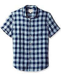 Lucky Brand - Woven Ballona Shirt - Lyst