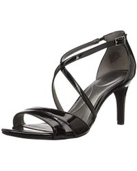 bf8a6a7b6cf49a Lyst - Bandolino Jeune Stiletto Sandals in Metallic
