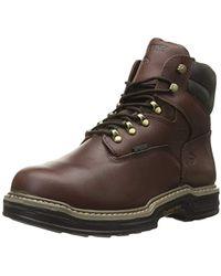 31227867f58 Lyst - Caterpillar Silverton Guard Steel Toe Work Boot in Brown for Men