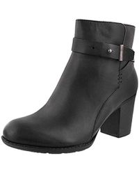 Clarks - Enfield Sari Ankle Bootie - Lyst