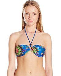 Desigual - Diana Bikini Top - Lyst