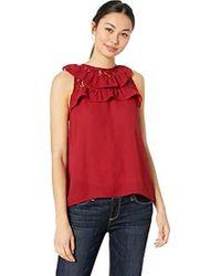 9087e724c18b82 Lyst - Jack BB Dakota Pretty Pretty Good Plaid Top in Red