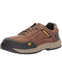 Caterpillar - Streamline Leather Ct / Dark Beige Work Shoe - Lyst