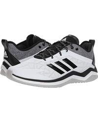 new style 5766b 10e33 Dhommes S Adidas Chaussures formateurs Des Bleu Awbasket Mec