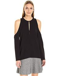 Theory - Sarver.rosina Crepe Top - Lyst