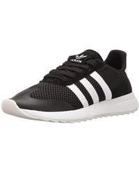 size 40 b8fd9 4d0eb adidas Originals - Flashback Fashion Sneakers, White black, ((10 M Us