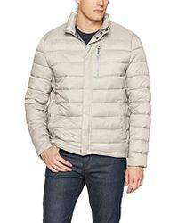 Kenneth Cole - Packable Jacket With Chest Zipper - Lyst