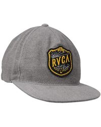 642d0aa6a9848 Lyst - Brixton Hendrick Five Panel Cap in Gray for Men