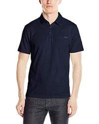 Calvin Klein - Liquid Touch Polo Shirt - Lyst