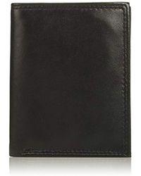 Buxton - Emblem-leather Twofold Wallet - Lyst