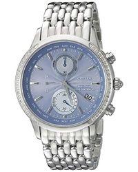 Citizen - Eco-drive Fc5000-51l World Chronograph A-t Watch - Lyst