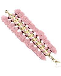 Lucky Brand - S's Fringe Bracelet - Lyst