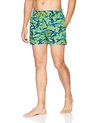 5fb10c8115 Lyst - BOSS Black Piranha Swim Shorts Blue in Blue for Men