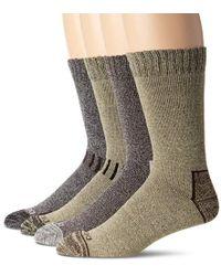 Dickies - 4 Pack All Season Marled Moisture Control Crew Socks - Lyst