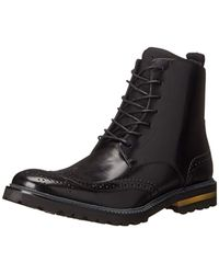 Kenneth Cole - Click Here Combat Boot - Lyst