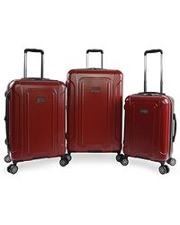 Original Penguin - Crest 2.0-3 Piece Set Expandable Suitcase With Spinner Wheels - Lyst