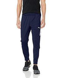 9be6310d0d97 Lyst - PUMA Bordeaux 2016 17 Training Pants in Blue for Men